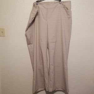Lane Bryant Dress Pants Plaid 26